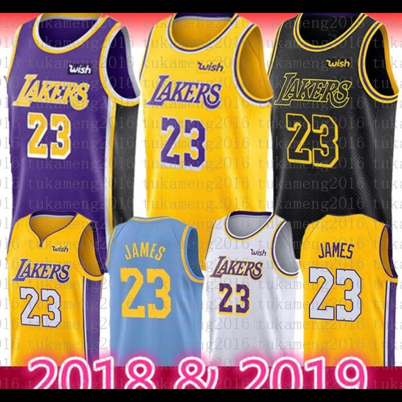 1ee59d36a129 Lebron James Lakers Jersey  23 All Sizes and Color. NWT